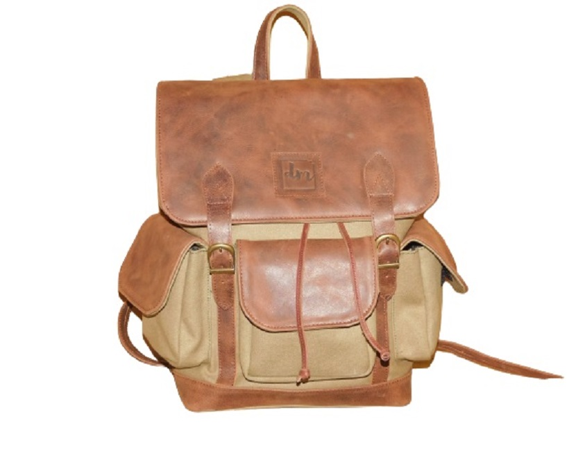 Leather Backpack brown1024